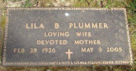DAY PLUMMER, LILA BERNICE - Polk County, Oregon | LILA BERNICE DAY PLUMMER - Oregon Gravestone Photos