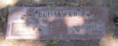 PLUMMER, ROY RUSSELL - Polk County, Oregon | ROY RUSSELL PLUMMER - Oregon Gravestone Photos