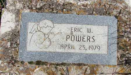 POWERS, ERIC W - Polk County, Oregon | ERIC W POWERS - Oregon Gravestone Photos