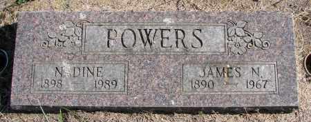 POWERS, JAMES N - Polk County, Oregon | JAMES N POWERS - Oregon Gravestone Photos
