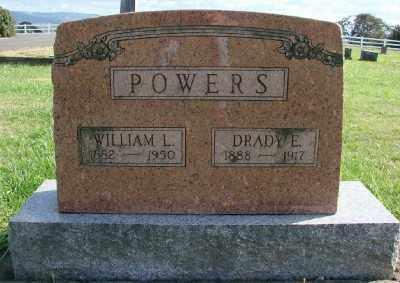 POWERS, WILLIAM L - Polk County, Oregon | WILLIAM L POWERS - Oregon Gravestone Photos