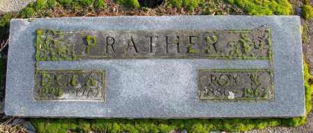 PRATHER, ROY WALLACE - Polk County, Oregon | ROY WALLACE PRATHER - Oregon Gravestone Photos