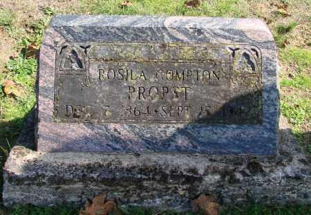 COMPTON PROPST, ROSILA - Polk County, Oregon | ROSILA COMPTON PROPST - Oregon Gravestone Photos