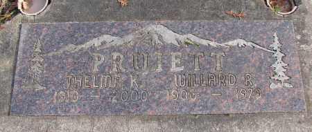 PRUIETT, THELMA KATHRYN - Polk County, Oregon   THELMA KATHRYN PRUIETT - Oregon Gravestone Photos