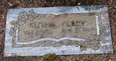 PURDY, KEITH LYLE - Polk County, Oregon | KEITH LYLE PURDY - Oregon Gravestone Photos