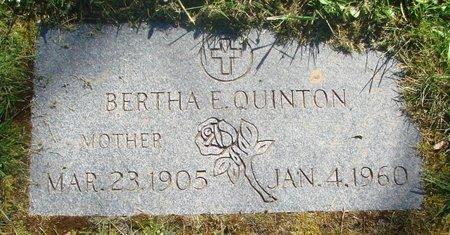 QUINTON, BERTHA EUGENE - Polk County, Oregon   BERTHA EUGENE QUINTON - Oregon Gravestone Photos