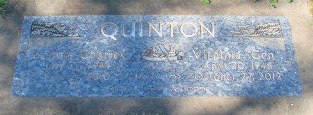 OWENS QUINTON, VIRGINIA MAE - Polk County, Oregon | VIRGINIA MAE OWENS QUINTON - Oregon Gravestone Photos