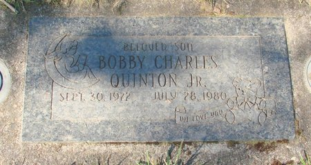 QUINTON, BOBBY CHARLES JR - Polk County, Oregon | BOBBY CHARLES JR QUINTON - Oregon Gravestone Photos