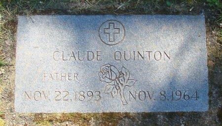 QUINTON, CLAUDE - Polk County, Oregon | CLAUDE QUINTON - Oregon Gravestone Photos
