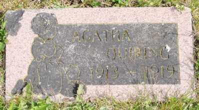 QUIRING, AGATHA - Polk County, Oregon | AGATHA QUIRING - Oregon Gravestone Photos