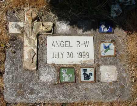 R-W, ANGEL - Polk County, Oregon | ANGEL R-W - Oregon Gravestone Photos