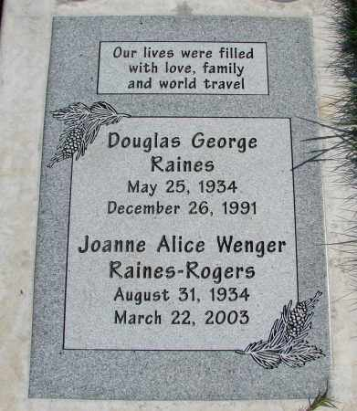 ROGERS, JOANNE ALICE - Polk County, Oregon | JOANNE ALICE ROGERS - Oregon Gravestone Photos