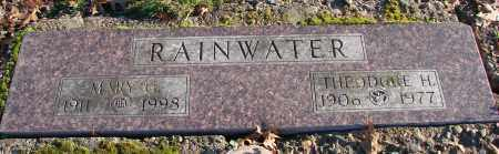RAINWATER, THEODORE H - Polk County, Oregon | THEODORE H RAINWATER - Oregon Gravestone Photos
