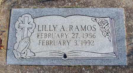 RAMOS, LILLY A - Polk County, Oregon   LILLY A RAMOS - Oregon Gravestone Photos