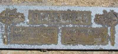 RAMSDELL, SIEVERT ANDREW - Polk County, Oregon | SIEVERT ANDREW RAMSDELL - Oregon Gravestone Photos