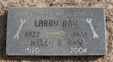 RAY, LARRY - Polk County, Oregon | LARRY RAY - Oregon Gravestone Photos