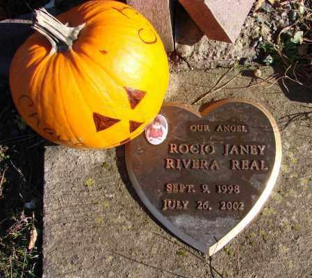 REAL, ROCIO JANEY RIVERA - Polk County, Oregon   ROCIO JANEY RIVERA REAL - Oregon Gravestone Photos