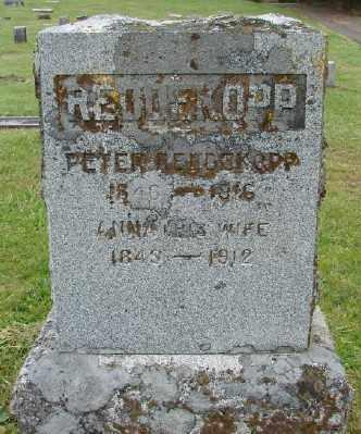 REDDEKOPP, PETER - Polk County, Oregon   PETER REDDEKOPP - Oregon Gravestone Photos