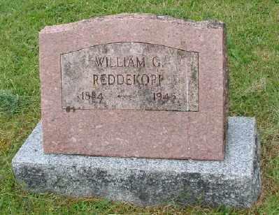 REDDEKOPP, WILLIAM G - Polk County, Oregon | WILLIAM G REDDEKOPP - Oregon Gravestone Photos