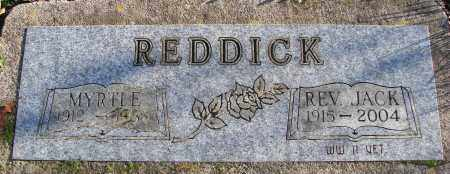 REDDICK, MYRTLE - Polk County, Oregon | MYRTLE REDDICK - Oregon Gravestone Photos