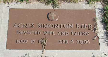 SIMONTON, AGNES - Polk County, Oregon   AGNES SIMONTON - Oregon Gravestone Photos