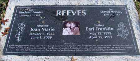 REEVES, JOAN MARIE - Polk County, Oregon   JOAN MARIE REEVES - Oregon Gravestone Photos