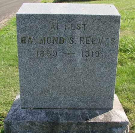 REEVES, RAYMOND S - Polk County, Oregon   RAYMOND S REEVES - Oregon Gravestone Photos