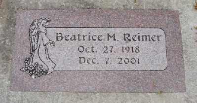 REIMER, BEATRICE M - Polk County, Oregon | BEATRICE M REIMER - Oregon Gravestone Photos