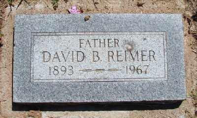 REIMER, DAVID B - Polk County, Oregon | DAVID B REIMER - Oregon Gravestone Photos