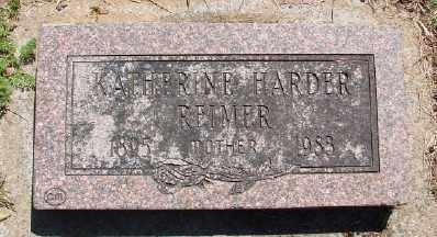 HARDER REIMER, KATHERINE - Polk County, Oregon   KATHERINE HARDER REIMER - Oregon Gravestone Photos