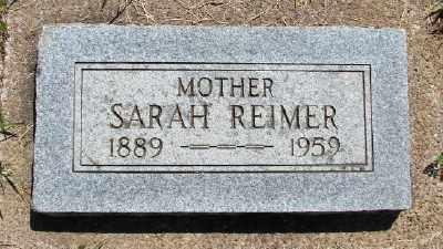 FAST REIMER, SARAH - Polk County, Oregon | SARAH FAST REIMER - Oregon Gravestone Photos