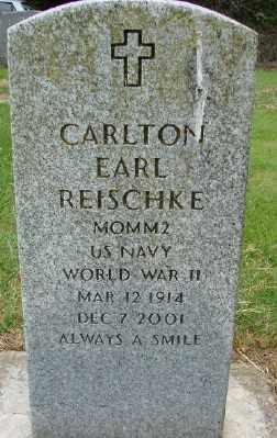 REISCHKE, CARLTON EARL - Polk County, Oregon   CARLTON EARL REISCHKE - Oregon Gravestone Photos