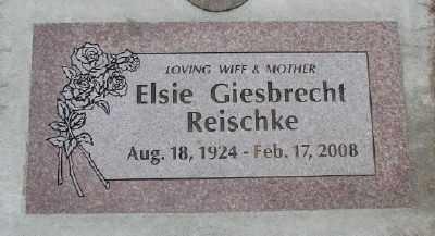 GIESBRECHT, ELSIE H - Polk County, Oregon | ELSIE H GIESBRECHT - Oregon Gravestone Photos
