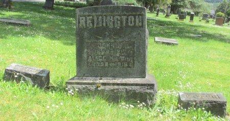REMINGTON, JOHN H - Polk County, Oregon | JOHN H REMINGTON - Oregon Gravestone Photos