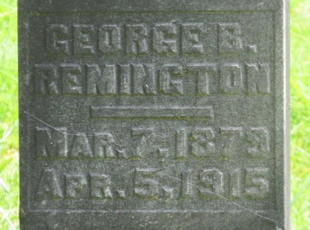 REMINGTON, GEORGE B - Polk County, Oregon | GEORGE B REMINGTON - Oregon Gravestone Photos