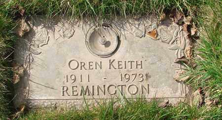REMINGTON, OREN KEITH - Polk County, Oregon | OREN KEITH REMINGTON - Oregon Gravestone Photos