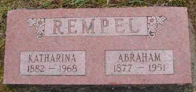 REMPEL, ABRAHAM G - Polk County, Oregon | ABRAHAM G REMPEL - Oregon Gravestone Photos