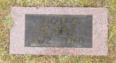 REMPEL, JACOB H - Polk County, Oregon   JACOB H REMPEL - Oregon Gravestone Photos