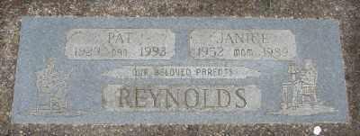 REYNOLDS, PAT - Polk County, Oregon | PAT REYNOLDS - Oregon Gravestone Photos