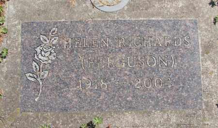 FERGUSON, HELEN - Polk County, Oregon | HELEN FERGUSON - Oregon Gravestone Photos