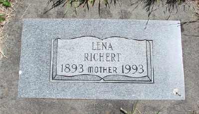 RICHERT, LENA - Polk County, Oregon | LENA RICHERT - Oregon Gravestone Photos