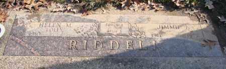 RIDDELL, HELEN M - Polk County, Oregon   HELEN M RIDDELL - Oregon Gravestone Photos