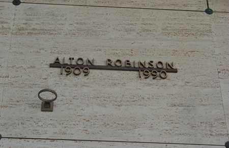 ROBINSON, ALTON - Polk County, Oregon | ALTON ROBINSON - Oregon Gravestone Photos