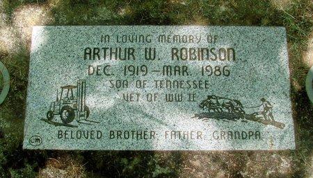ROBINSON, ARTHUR W - Polk County, Oregon   ARTHUR W ROBINSON - Oregon Gravestone Photos