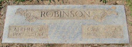 ROBINSON, ALBERT W - Polk County, Oregon | ALBERT W ROBINSON - Oregon Gravestone Photos