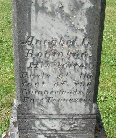 ROBINSON, ANNABEL G - Polk County, Oregon   ANNABEL G ROBINSON - Oregon Gravestone Photos