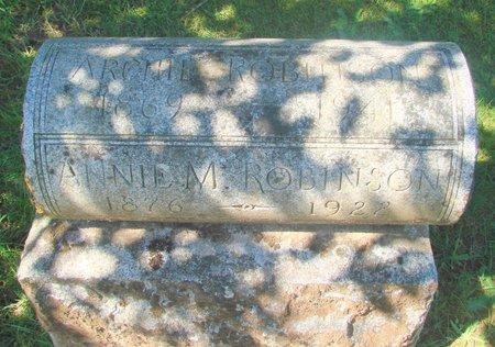 ROBINSON, ANNE MARY - Polk County, Oregon | ANNE MARY ROBINSON - Oregon Gravestone Photos