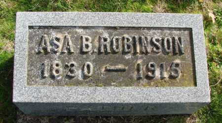 ROBINSON, ASA B - Polk County, Oregon | ASA B ROBINSON - Oregon Gravestone Photos