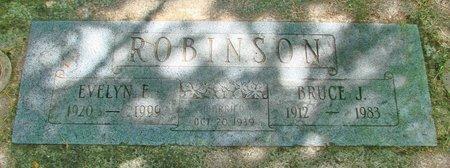 ROBINSON, BRUCE J - Polk County, Oregon | BRUCE J ROBINSON - Oregon Gravestone Photos