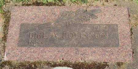 ROBINSON, BIRL ALFRED - Polk County, Oregon | BIRL ALFRED ROBINSON - Oregon Gravestone Photos